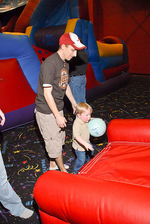 "Harlea's Birthday Party at ""Pump it Up"""