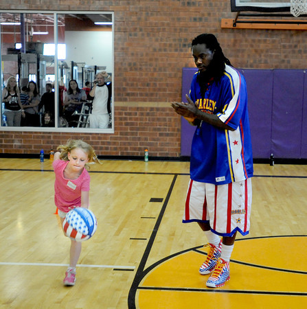 Harlem Globetrotters at 24Hour Fitness in Broomfield
