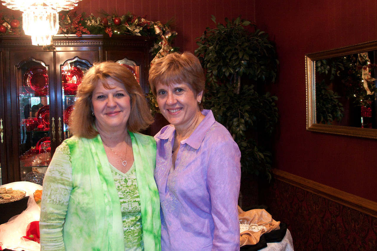 Sisters, and the best of friends!!  Sherri Waterbury Bryant and Patti Waterbury from Plano, Texas.