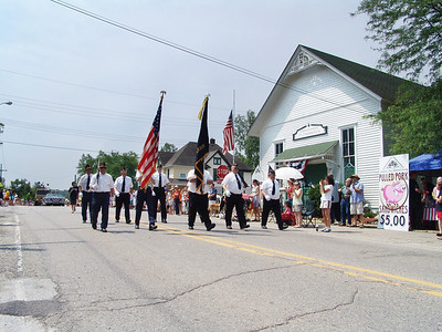 2010 Hartland Memorial Day Parade, Downtown Hartland