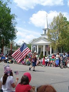2008 Hartland Memorial Day Parade, Downtown Hartland