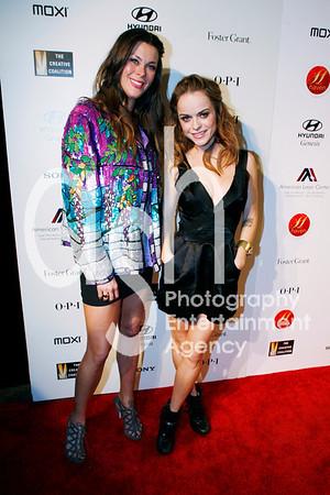 Taryn Manning (Right) and Tara Jane