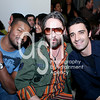 "Roger Cross ""Actor"", Designer Laurent Planeix, and Gilles Marini ""Actor"""