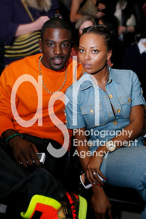 """Eva Marcelle  """"Model / actress"""" and  Lance Gross """"Actor"""""""