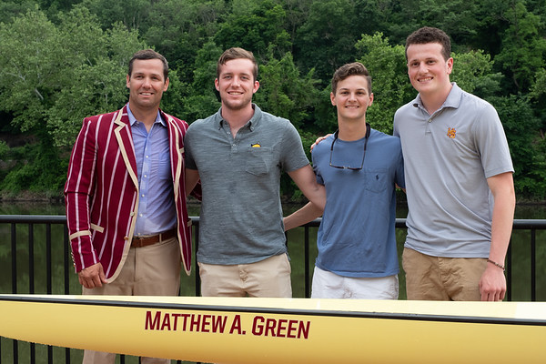 Haverford Crew Boat Christening McBride Green June 2 2018