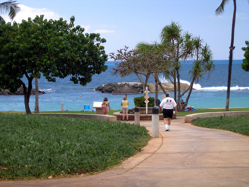 Ko Olina beach resort (Marriott Resort)