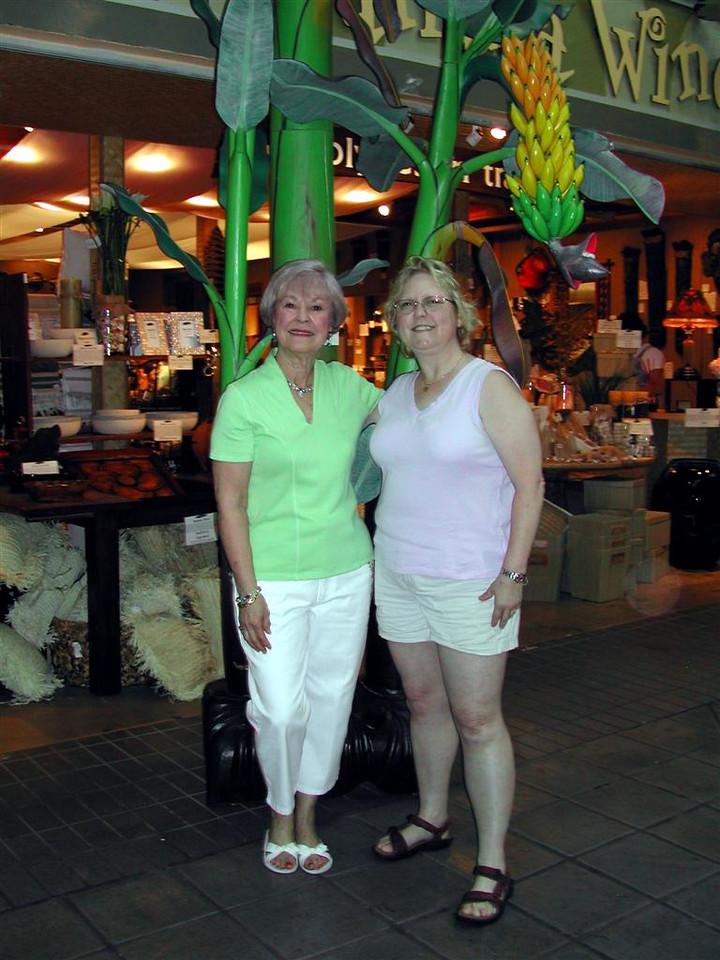 Clare and Margo