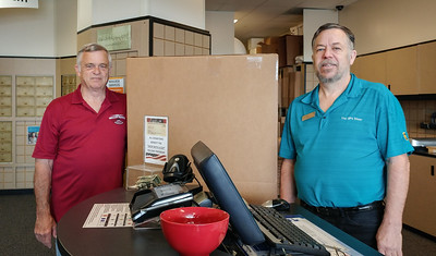 An amazing connection:  the central Ohio UPS store where Ron shipped the drum heads is run by a brother-in-law of one of the Hawaii-based tour members!