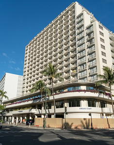 Our lodging, the Ohana East