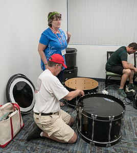 Bass Drum assembly