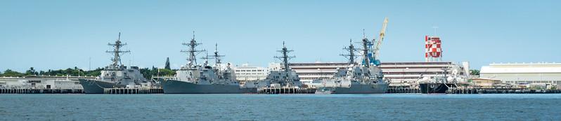 Across the harbor - Joint Base Pearl Harbor-Hickham