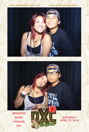 Hawaii Sneakerheads at DXC April 2013 (Stand Up Photo Booth)