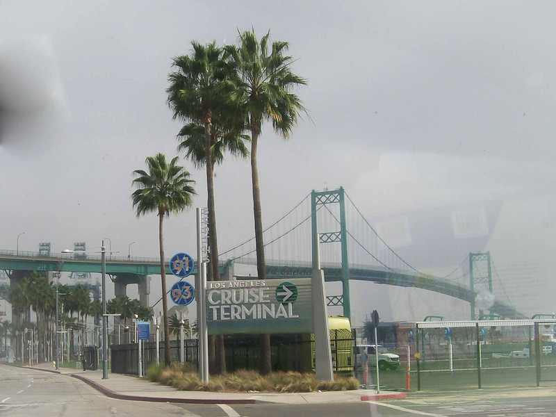 Cruise Terminal of Los Angeles Pier 93