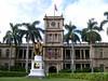 Kamehameha I (Hawaiian pronunciation: [kəmehəˈmɛhə]; ca. 1758 – May 8, 1819), also known as Kamehameha the Great, conquered the Hawaiian Islands and formally established the Kingdom of Hawaiʻi in 1810