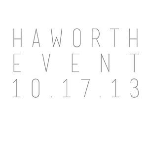 Haworth Event 10.17.13