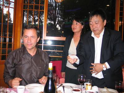 He Nan Mayer's Dinner Party 2005