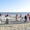 Walking the Sand Labyrinth