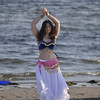 Healing the waters, Troupe Isis preformed beautiful Middle East Dancing