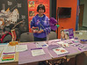 Yours truly with a picture of Ma creating awareness about pancreatic cancer...