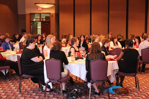 Health Professions Banquet 2012