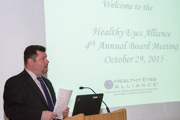 Healthy Eye Alliance Annual Board Meeting 10-29-2015