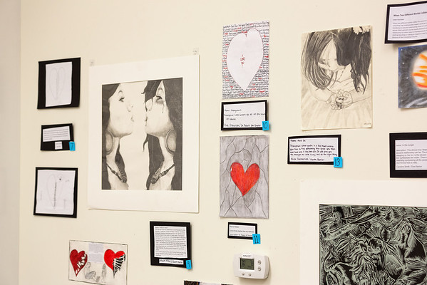 The second annual art show with art made by teens all representing healthy or unhealthy relationships through a teens perspective.