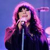 Don Knight | The Herald Bulletin<br /> Ann Wilson of Heart performs at Hoosier Park on Friday as part of their summer concert series.