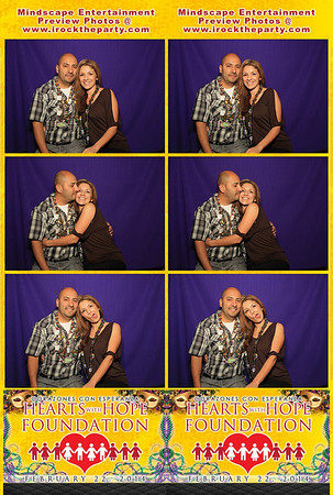 Hearts With Hope Foundation 2014 - Photo Booth Pictures