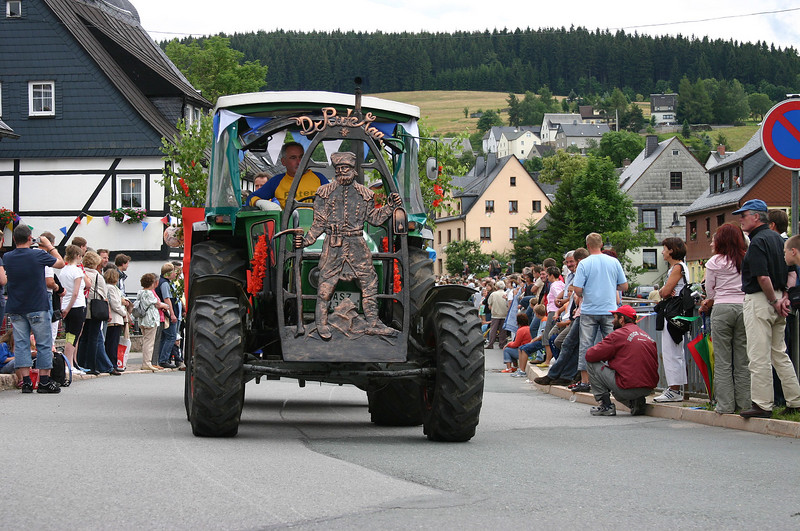 Heimatfest 800 Jahre Sosa - Der Umzug