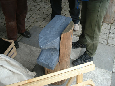 Latex foam anvil
