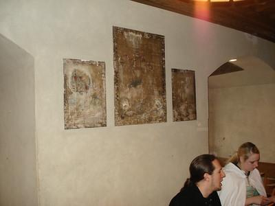 Cantina wall
