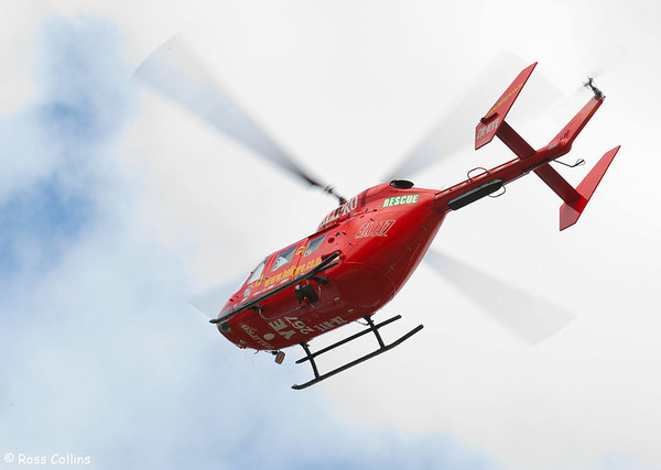 Helicopter in the Suburbs 2011