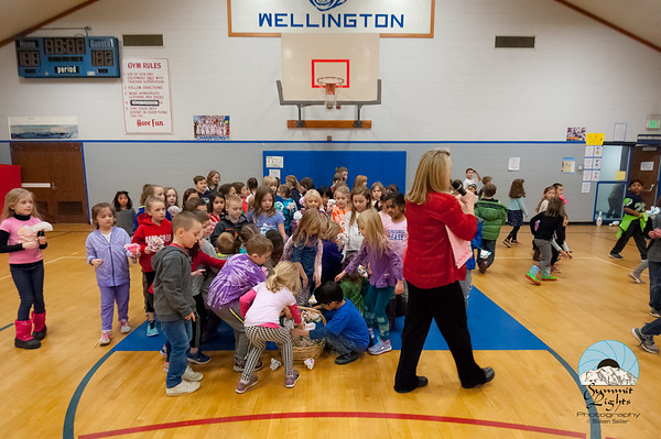 Helping Hands Service Club at Wellington Elementary