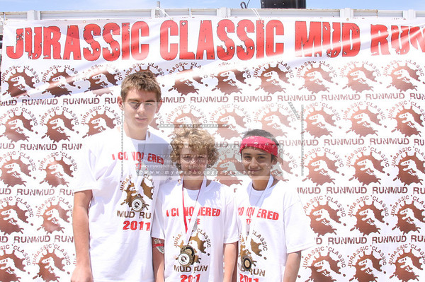 Jurassic Mud Run Award Winners