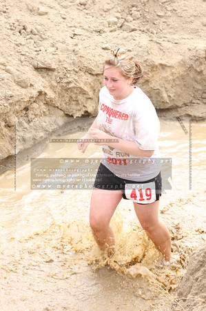 Jurassic Mud Run Females Tag #400-499