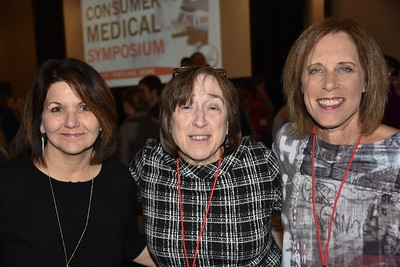 Laurel McKernan (Dartmouth-Hitchcock HTC) [center] and Rhonda Fritz (Biomarin) [right]