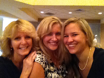 Laurie Kelley, Laurel McDonell and Meredith. Laurel and Meredith look like sisters, not mother and daughter!
