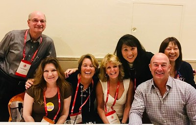 NHF 2018 003 Laurie with California friends