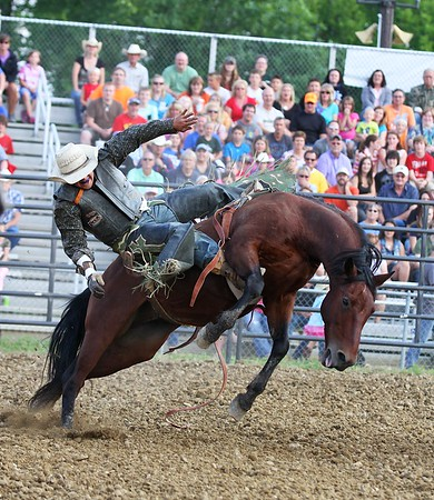 Hendricks County Fair Rodeo 18JUL14