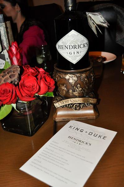 Hendricks Gin Dinner - Part 2