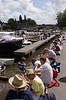 Spectators at the Henley Regatta July 2008