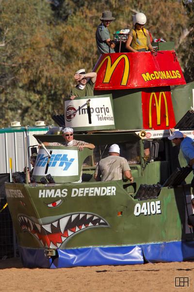 The HMAS Defender, Battle Boat