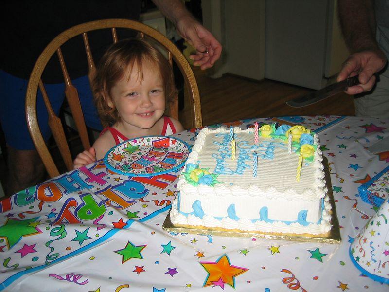 Happy 4th Birthday Elizabeth!