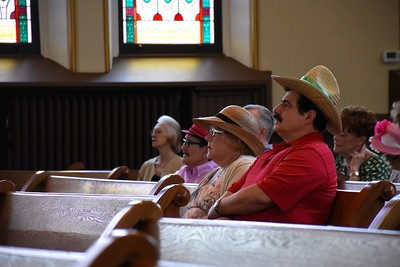 Hatted Congregation 1