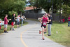 Runners and volunteers came out to honor and celebrate their heros while running 13.1 miles through Fayetteville.    Starting at Lewis & Clark, the Mayor, Miss Arkansas, Barre3, and a 9/11 Memorial Color Guard kicked off the race.  Runners from all backgrounds including firemen in gear, ran the entire 13.1 miles to the Walton Arts Center on Dickson Street cheered on by the many volunteers.<br /> <br /> THESE PHOTOS ARE FREE, FOR PERSONAL USE ONLY, COURTESY OF RUSH RUNNING.