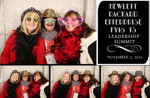 Hewlett Packard Leadership Summit - 11.2.15 Photo Strips