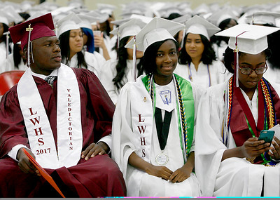 Lake Worth Community High School graduation at The South Florida Fairgrounds on Friday, May 19, 2017  Photo by Tim Stepien