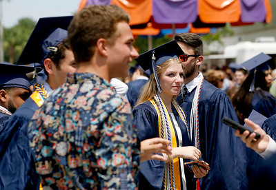 Spanish River Community High School graduation at The South Florida Fairgrounds on Tuesday, May 23, 2017  Photo by Tim Stepien