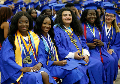 Inlet Grove High School graduation at The South Florida Fairgrounds on Thursday, May 25, 2017.  Photo by Tim Stepien