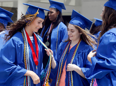 Wellington Community High School graduation at The South Florida Fairgrounds on Thursday, May 25, 2017.  Photo by Tim Stepien